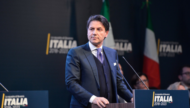 Italian prime minister stands for review of sanctions against Russia