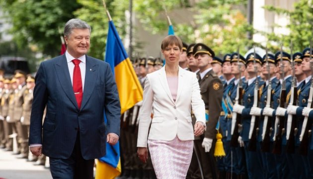 Estonian president to visit part of Donbas liberated from Russians