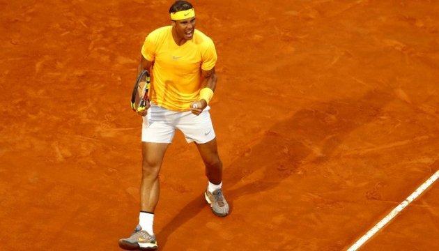 Теннис: Надаль вернулся на первое место в рейтинге ATP