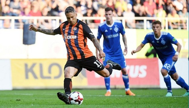Марлос – лучший футболист чемпионата Украины по оценкам эффективности ТТД