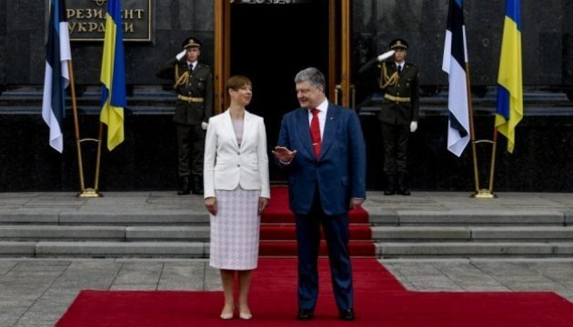 Visite de la présidente estonienne en Ukraine, retour sur la première journée