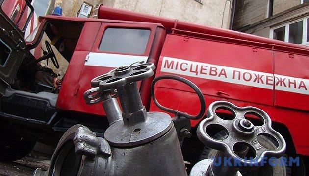 На Святошино горел институт - загорелась лаборатория