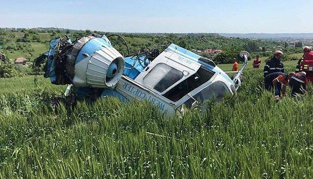 У Румунії розбився цивільний вертоліт