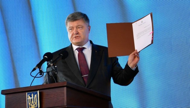 Ukrainian president signs law on support for domestic shipbuilding