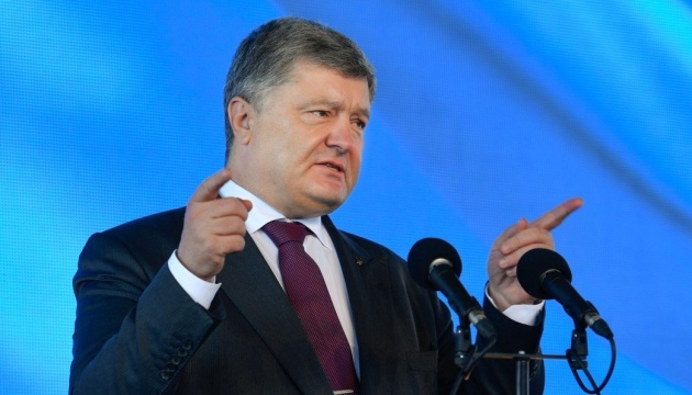Poroshenko instructs diplomats to expand international military and technical cooperation