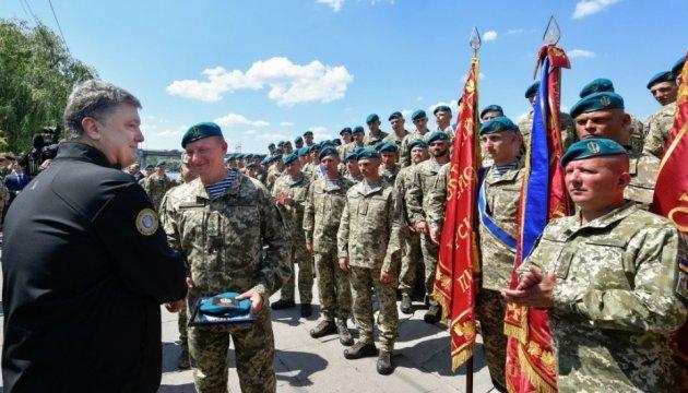 Poroschenko: Seit Beginn russischer Aggression sind 34 Marinesoldaten gefallen