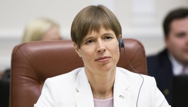 President of Estonia Kersti Kaljulaid to make working visit to Ukraine