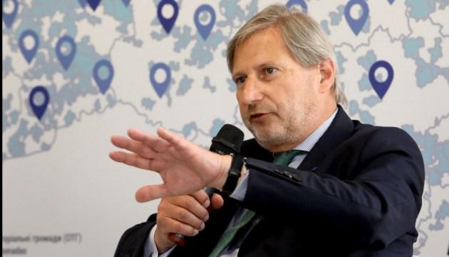 Єврокомісар Ган назвав ключовий індикатор для країн-кандидатів до ЄС