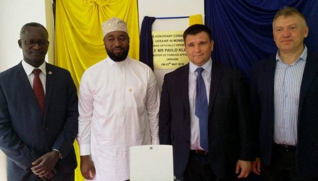 Klimkine inaugure le consulat honoraire d'Ukraine à Mombasa au Kenya