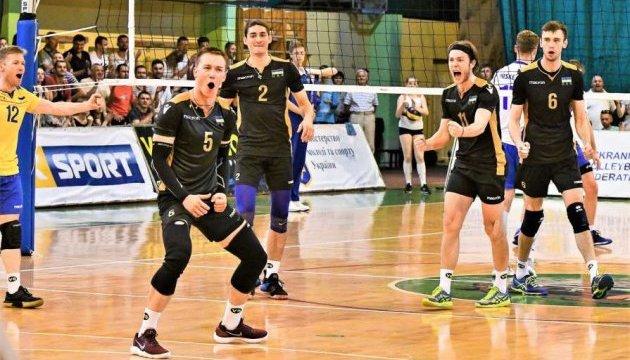 Волейбол: Сборная Украины разгромила Словению в Золотой Евролиге