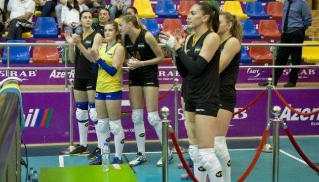 Волейбол: Украинки проиграли второй матч в Золотой Евролиге