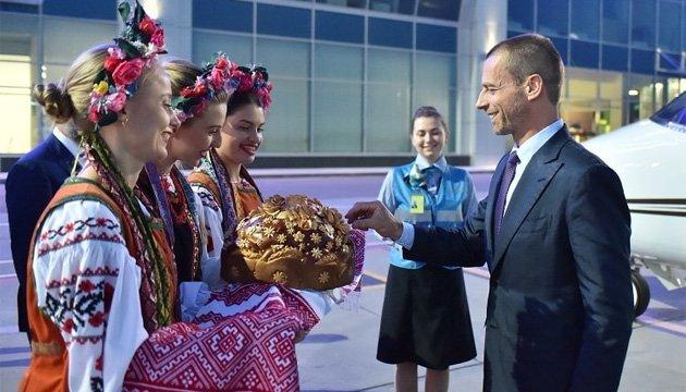 Президент УЕФА Александер Чеферин прибыл в Украину на финалы Лиги чемпионов