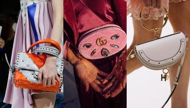 Модные сумки 2018: модели и цвета