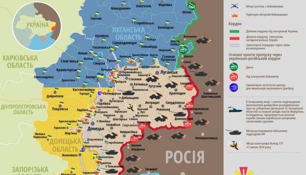 Боевики стреляли под Павлополем из танка и минометов