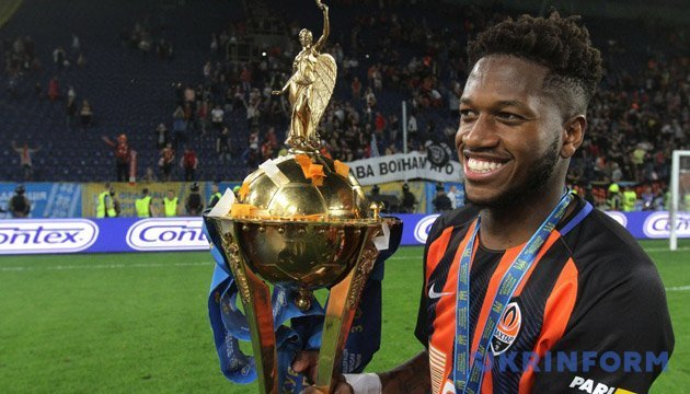 Shakhtar's Fred to move to Manchester United for EUR 50 mln