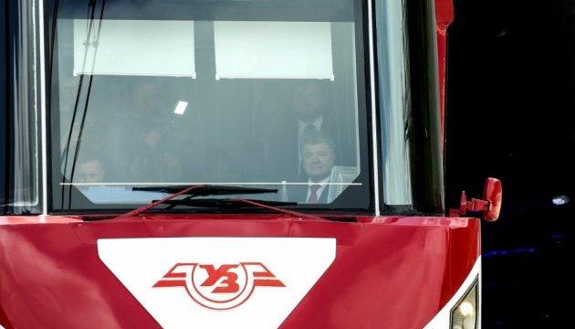 Порошенко прибыл на открытие Бескидского туннеля