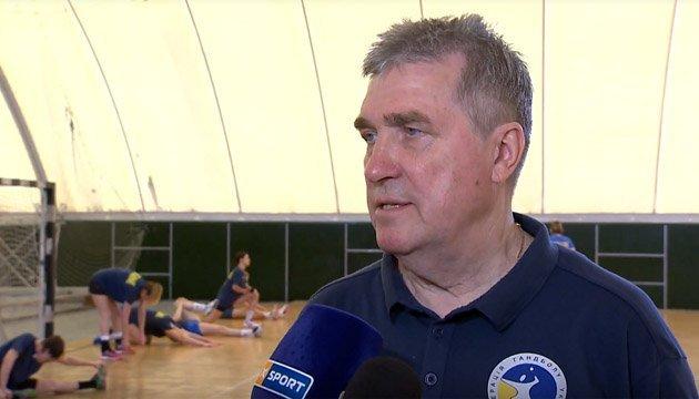 Борис Чижов: Україна покаже хороший гандбол у матчі з Норвегією