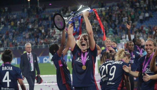 Lyon siegt im Finale Women's Champions League