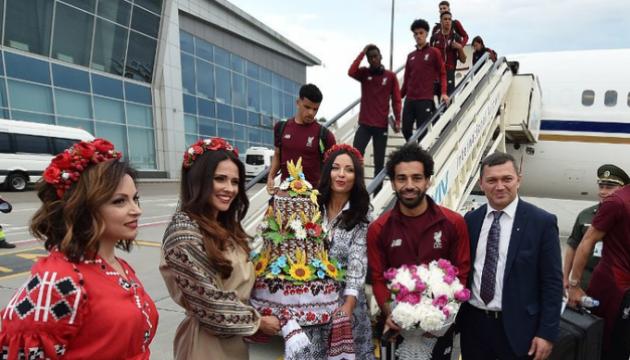 Fußballer des FC Liverpool in Kiew angekommen