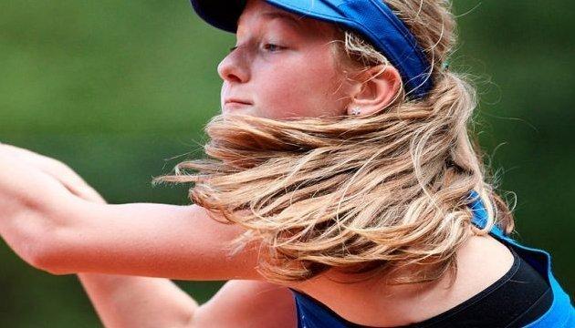 Теніс: українка Любов Костенко виграла юнацький турнір ITF у Чорногорії