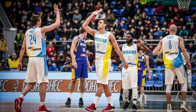 Баскетбол: сборная Украины определила 24 кандидатов на летние матчи отбора ЧМ-2019