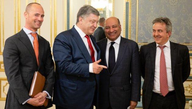 Порошенко призвал ЕБРР удвоить объемы финансирования проектов в Украине