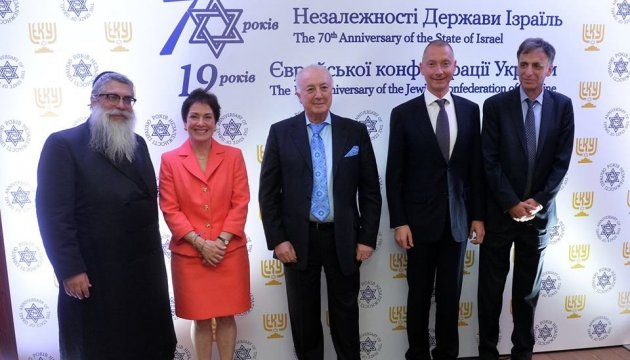 Borys Lozhkin became the president of the Jewish Confederation of Ukraine