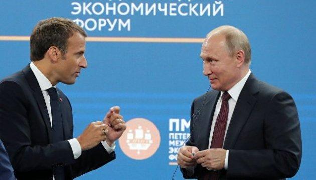 Macron nach Treffen mit Putin: EU wird Sanktionen gegen Russland ohne Fortschritt in der Ukraine nicht aufheben
