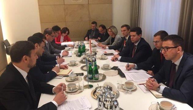Украина и Польша обсудили правовые последствия оккупации Россией Крыма