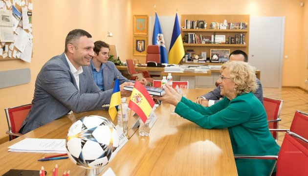 Кличко пропонує Мадриду стати побратимом Києва