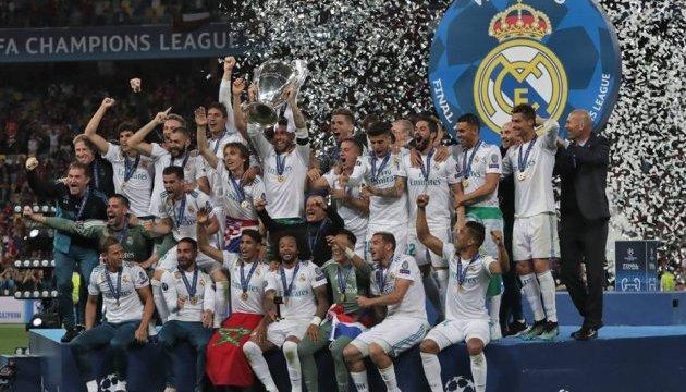«Реал» - первый клуб, который выиграл ЛЧ трижды подряд