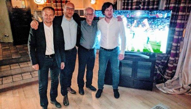 Парубий рассказал, в какой компании смотрел в Тбилиси футбол