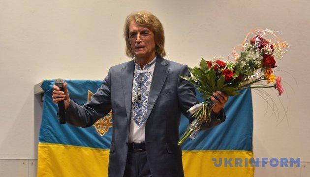Павел Дворский с сыновьями выступил в Берлине