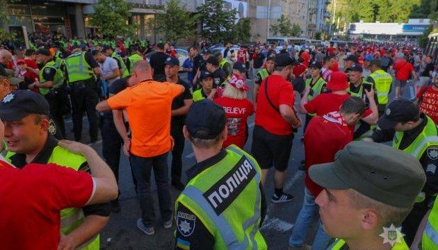В полиции подсчитали, сколько иностранцев посетили Киев на финал ЛЧ