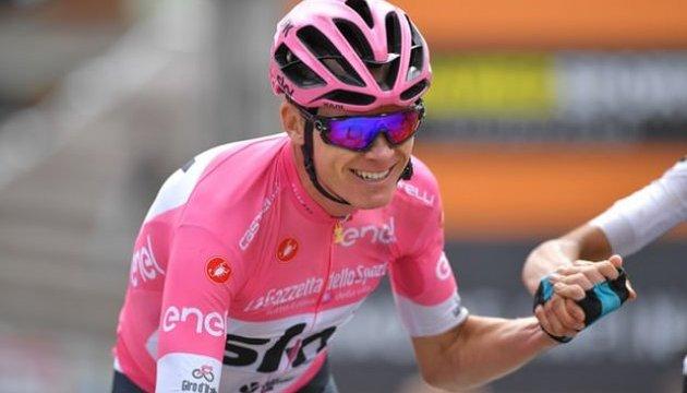 Крис Фрум победил на «Джиро-2018»