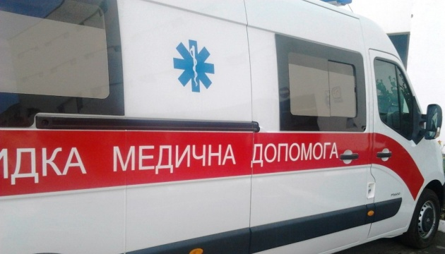 На Прикарпатье поезд сбил патрульное авто, есть пострадавшие