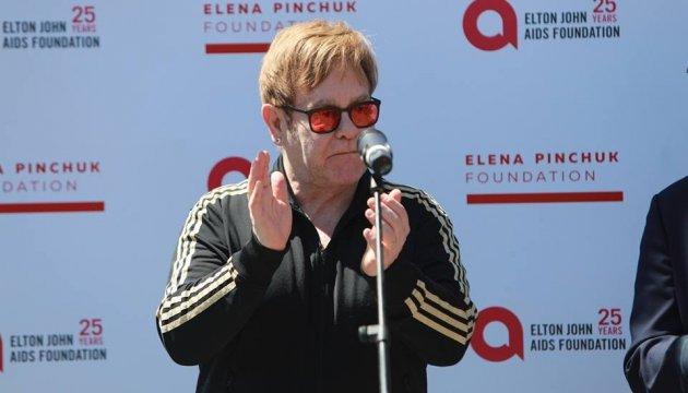 Elton John llega a Kyiv
