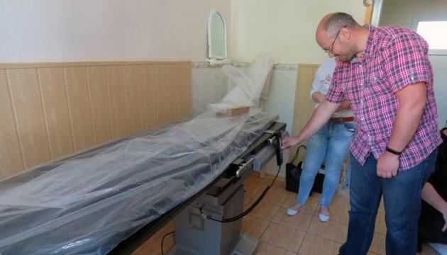 Винницкий кардиоцентр получил новое оборудование от Всемирного банка