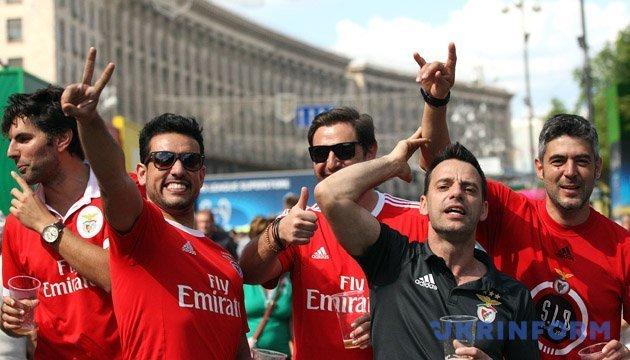 Фестивальный городок на Крещатике во время финала ЛЧ УЕФА посетили 230 тысяч гостей