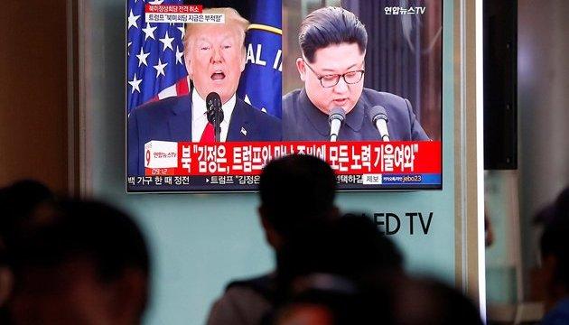 США і КНДР узгодили години зустрічі глав держав у Сінгапурі – Білий дім