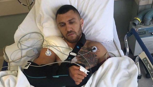 Ukrainian boxer Lomachenko undergoes shoulder surgery
