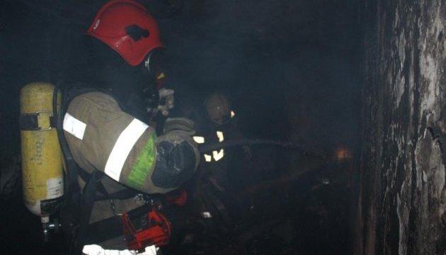 На шахті «Степова» на глибині 500 метрів сталася пожежа