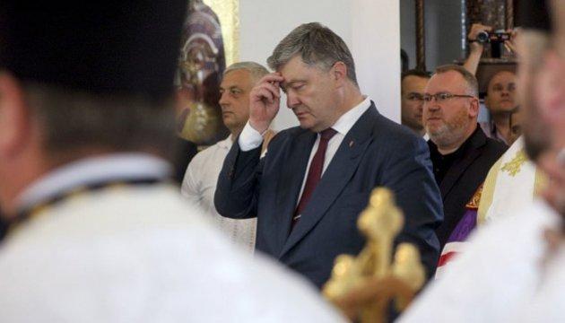 Präsident Poroschenko: Religiöse Probleme wurden in der Ukraine immer friedlich gelöst
