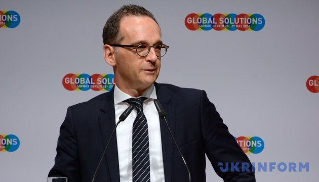 Maas wants to personally assess situation in Donbas