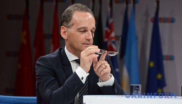 Германия намерена продолжать дебаты о миротворцах на Донбассе – Маас