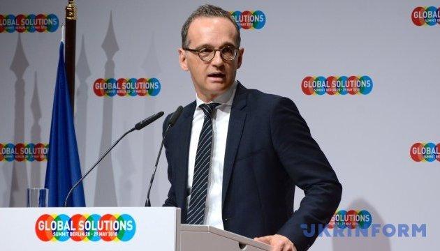 Глава МЗС Німеччини відповів на