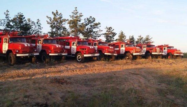 Extreme fire hazard remains in Ukraine