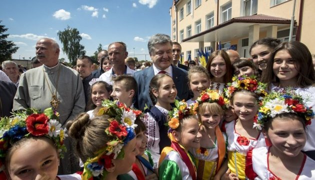 Protection of children's rights a priority in Ukraine's state policy - Poroshenko