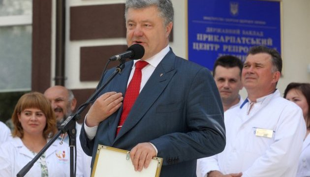 President Poroshenko: Development of port infrastructure is a matter of Ukraine's national security