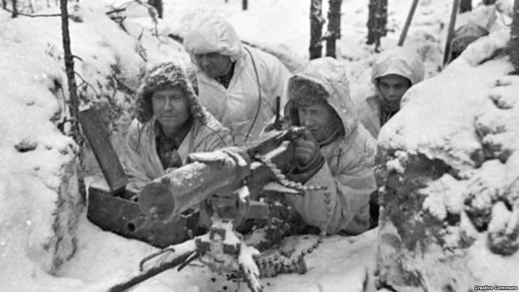Фінські військові під час радянсько-фінської війни, 1939-1940 роки